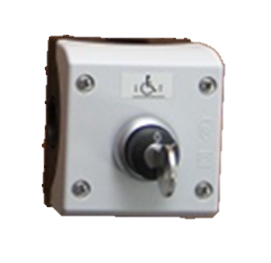 Call station key switch